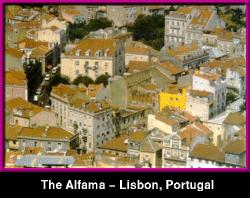Alfama District - Lisbon,  PORTUGAL