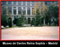 Courtyard of Reina Sophia