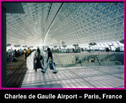 Charles de Gaulle Airport - Paris, FRANCE