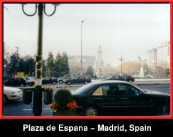 Plaza de Espana - Madrid, Spain