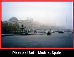 The Plaza del Sol - Madrid, Spain