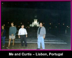 Me at the Praca do Comercio - Lisbon, PORTUGAL